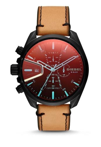Diesel brown Diesel Ms9 Chrono Brown Watch DZ4471 D3F78AC5077171GS_1