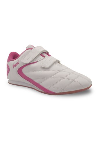 FANS white Fans Brio P - Girls Taekwondo Shoes White Pink FA469SH85FQOID_1