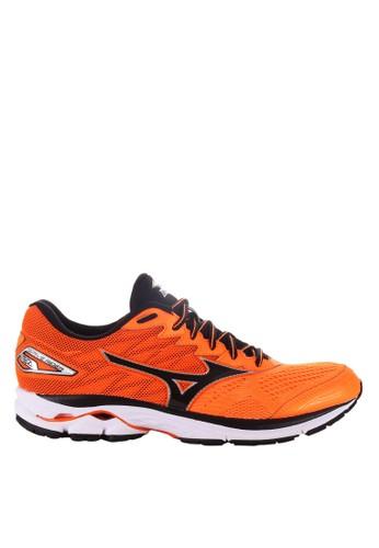 Mizuno orange WAVE RIDER 20 MI733SE14LFPID 1 31c274b4f2