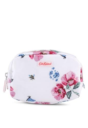 Cath Kidston white Wild Garden Make Up Case 99E00ACC85AF47GS_1