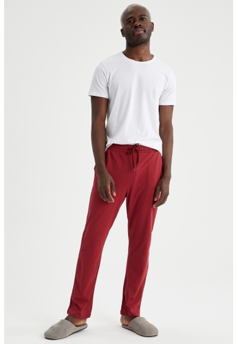 DeFacto red Regular Fit Cotton Homewear Bottoms F37C4AA0F445B9GS_1