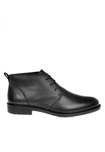 Hush Puppies black Mens Shoes Isiah Banker Chukka Boots B9A28SHE1479ECGS_1