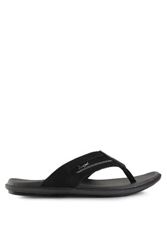 Homyped black Davidson 01 Men Sandals HO842SH26PWJID_1