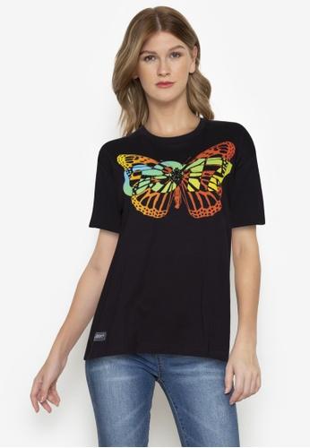 Globe black 0917 Vanguard Crosswind T-Shirt F2584AAB4C7722GS_1