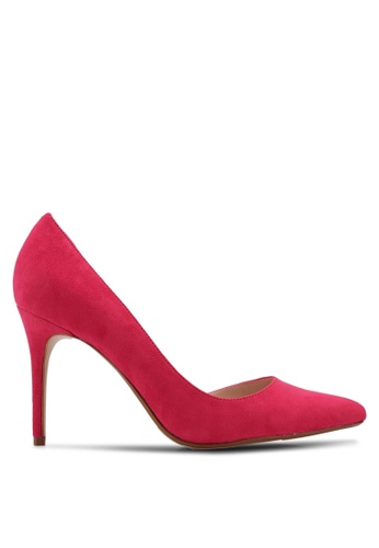 Mango pink Asymmetric Stiletto Shoes CAA27SH861BC29GS_1