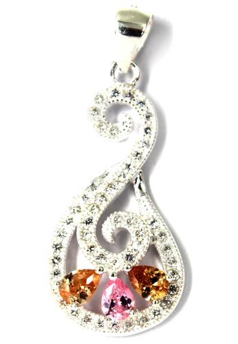 Venice Jewelry silver Crystallized Heron Pendant VE564AC68ZIDPH_1