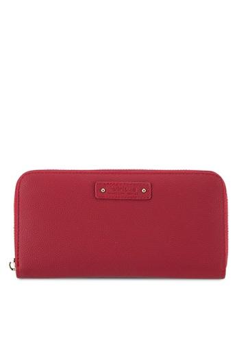 Perllini&Mel red Faux Leather Long Size Wallet PE444AC0SBMYMY_1