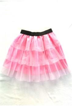 Tiered Tutu Skirt in Glittered Tulle