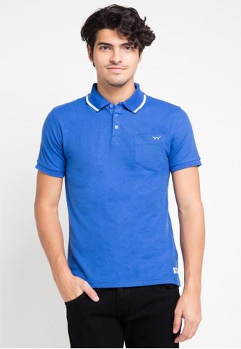 EDWIN blue Original Polo ED179AA0URIIID_1
