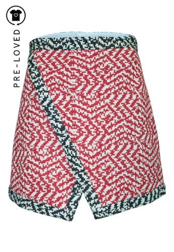 Sea multi Pre-Loved sea Wrap Tweed Skirt C6571AA5281921GS_1