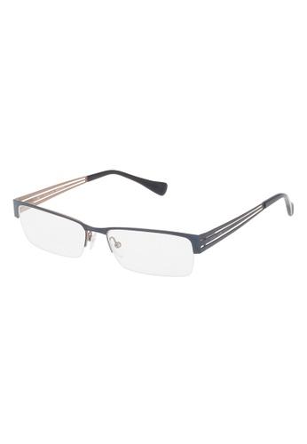 Police black POLICE Incisive 1 Eyeglasses VPL137 049A PO706AC17OXAMY_1