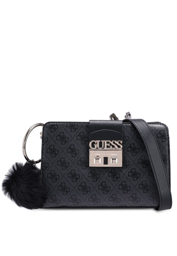 Buy Guess Logo Luxe Crossbody Girlfriend Bag Online on ZALORA Singapore a5f05e3051