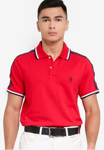 Brooks Brothers red Knit Polo Shirt D74BFAAB8049D2GS_1