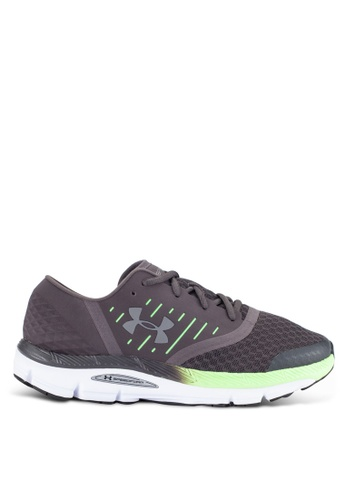 Under Armour grey UA Speedform Intake Shoes UN337SH0RANKMY_1