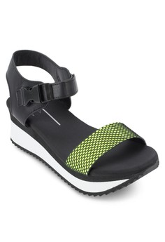 Wedge Sandals with Ankle Straps