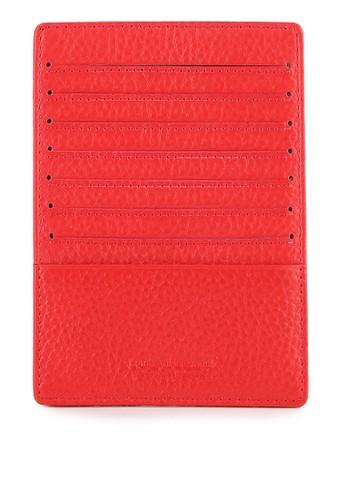 LOMBARDI GIOVANNI red Multiple Card Holder LO667AC0VROSID_1