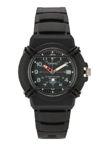 HDA-600B-1BVDF 防esprit 高雄水三指針手錶, 錶類, 飾品配件