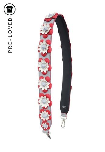 Fendi multi Pre-Loved fendi Flower Shoulder Strap DAAFBAC4CEA414GS_1