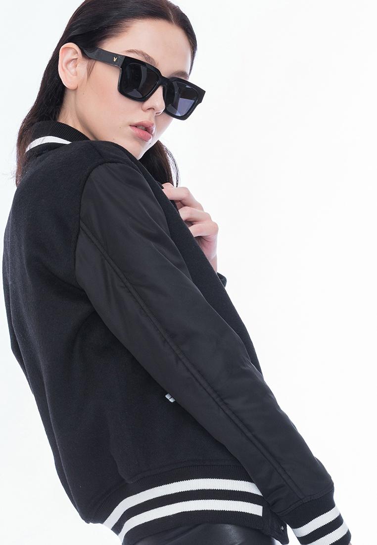Varsity Alpha Jacket Style Alpha Black BF qtwvx5