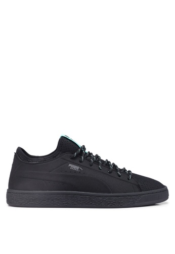 Puma Select black Puma X Diamond Basket Sock Lo Shoes A51B8SHAE67F54GS_1