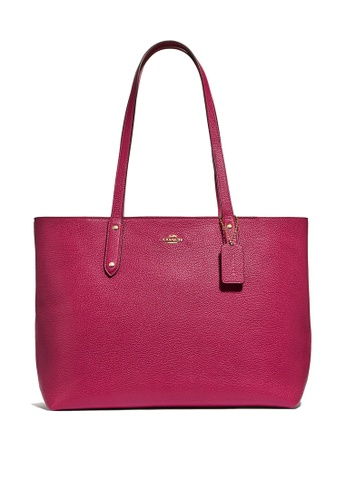 Coach red Central Tote Bag With Zip (cv) 63FEBAC9BD738CGS_1