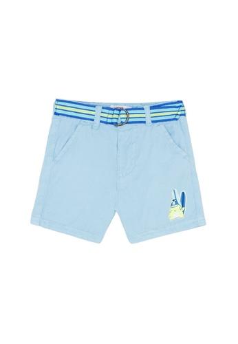Du Pareil Au Même (DPAM) blue Surf Bermuda Shorts 123AFKADFFC419GS_1