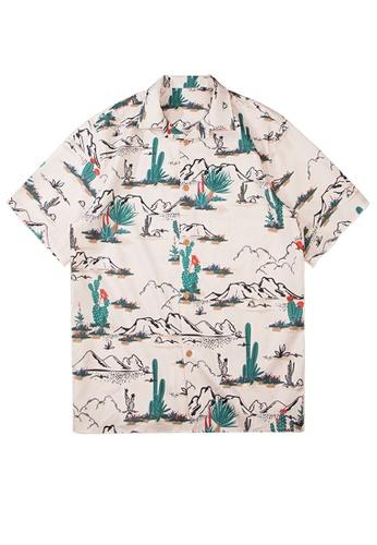 Twenty Eight Shoes Loose Printed Short Shirt MD6008 EE62BAAC4BF8FDGS_1