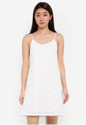 ZALORA white Broderie Cami Dress 02C23AA0369DCBGS_1