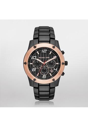 Caine競速鋼帶腕錶 MK8513esprit分店, 錶類, 時尚型