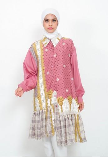 My Daily Hijab pink Morena Tunik Pink 7A95DAA06C66A3GS_1