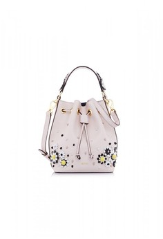 Light Pink Moray Bucket Bag S