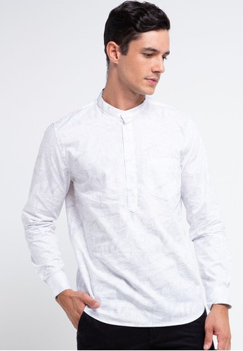 Men's Top white LUXOR-WHITE Shirt B878CAAF1C7E7AGS_1