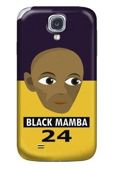 Black Mamba Matte Hard Case for Samsung Galaxy S4