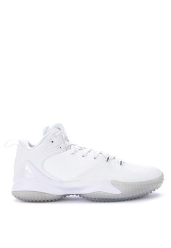 PEAK white Streetball Master II Basketball Shoes 70C16SH93DF90AGS_1