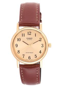 STRAP FASHION_MTP-1095Q-9B1 Watch