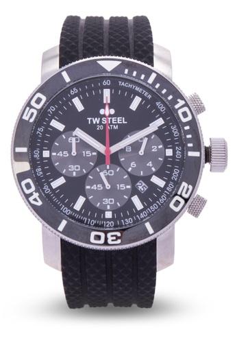 TW Steel black TW701 Grandeur Diver Analog Watch TW310AC0KMCHPH_1