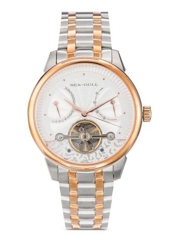 217.412 ST2585 41mm 機械金esprit童裝門市屬鍊錶, 錶類, 飾品配件