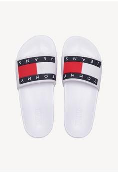 8f0f7f2742f7 Tommy Hilfiger Tommy Jeans Flag Pool Slide S  99.00. Sizes 38 39 40