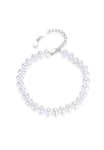 A.Excellence white Premium White Pearl Bracelet 0F933ACCDC174AGS_1
