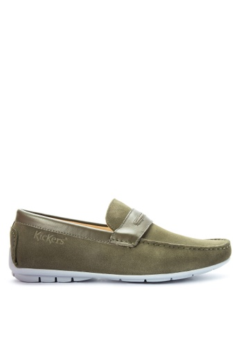 Kickers green Valen Casual Shoes KI766SH0JFDYPH_1