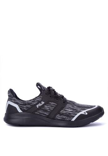 Fila black Radiant Running Shoes 3F1DFSHCBFD028GS_1