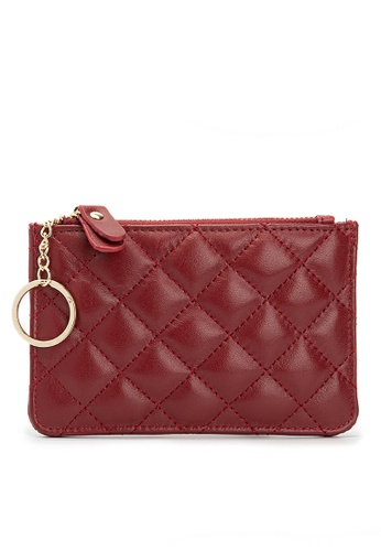 HAPPY FRIDAYS Rhombic Texture Leather Wallet JN015 DDFEAACC9C48FFGS_1