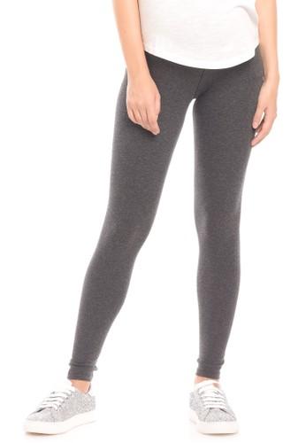 Jual Mooimom Mooimom Seamless Maternity Legging Celana Legging Hamil Dark Grey Original Zalora Indonesia
