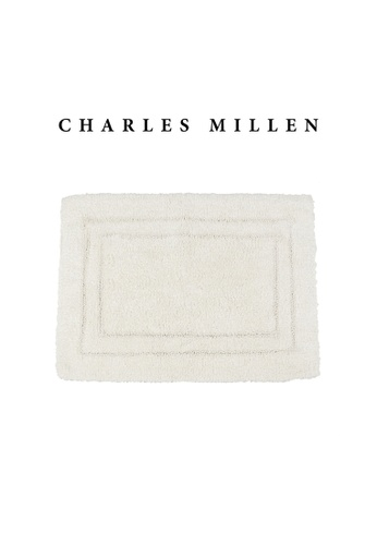 Charles Millen SET OF 2 Charles Millen Suite Matrice Tufted Bath Rug ( 40cm x 60cm )360g 7F162HLD4E4A82GS_1