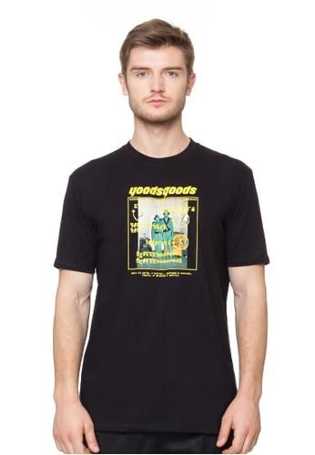 Yoods Goods black YoodsGoods Black Alien T-Shirt 56D4BAAE16DFA6GS_1