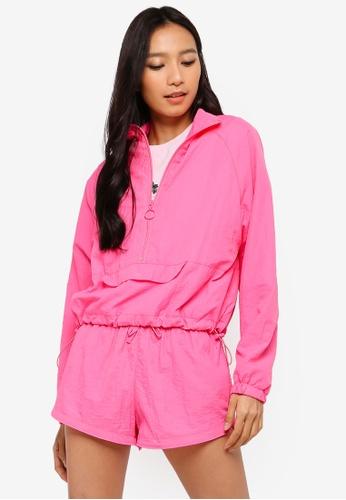 Factorie pink Woven Windbreaker 743E0AAFA624DFGS_1