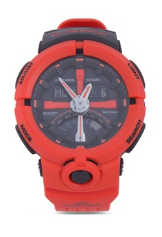 1e6bed27ce82 Casio red G-SHOCK Digital Analog Watch GA-500P-4A CA076AC84EJJPH_1