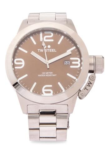 TW Steel silver CB22 Canteen Bracelet Analog Watch TW310AC0KMALPH_1