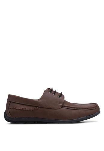 Rocklander brown Rocklander Lace Up Shoes 8E0B6SH52B9552GS_1