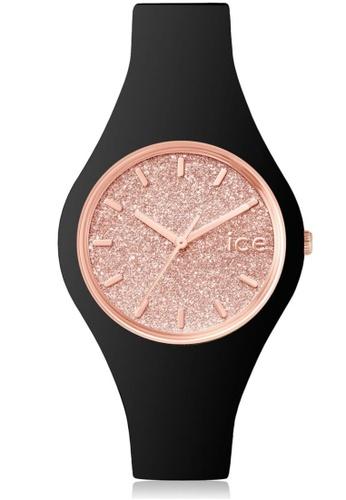 Ice-Watch black ICE glitter - Black Rose-Gold IC770AC57QAKHK_1